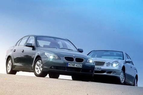 BMW 530i gegen Mercedes-Benz E 320