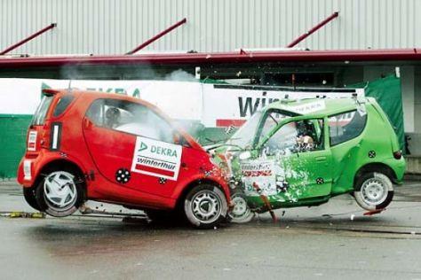 DEKRA-Kleinwagen-Crashtest