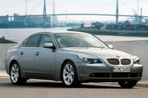BMW 545i und 525i