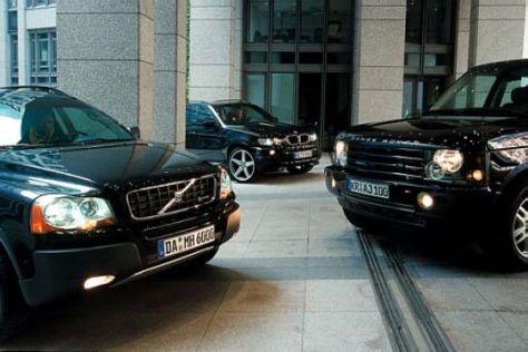 Getunte SUV: Range Rover, Volvo XC90, BMW X5