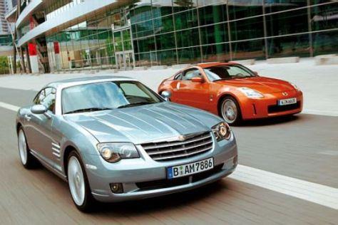 Chrysler Crossfire und Nissan 350Z