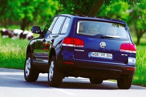 VW Touareg R5 TDI