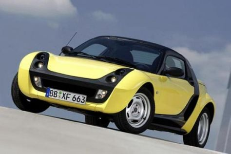 Smart roadster mit 61 PS