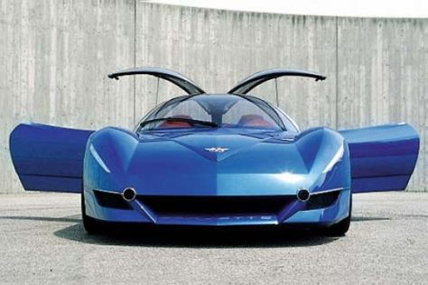 Italdesign Corvette Moray