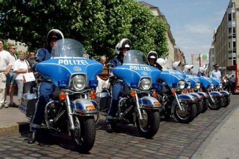 Harley-Davidson-Polizeimotorräder