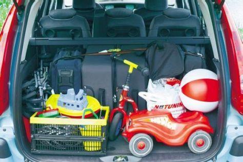 auto packen urlaub