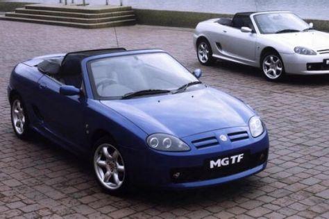 """Sondermodell """"Cool Blue"""" von MG Rover"""