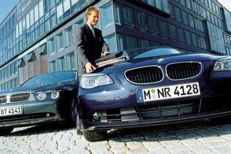 BMW 530d gegen BMW 730d
