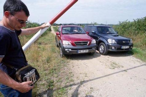 Kia Sorento gegen Hyundai Terracan
