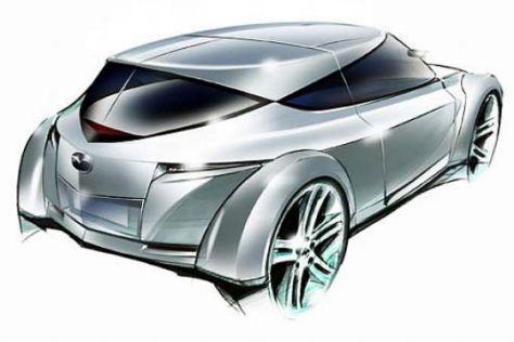"Concept-Car ""Mazda Kusabi"""
