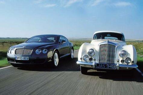 Bentley gestern und heute