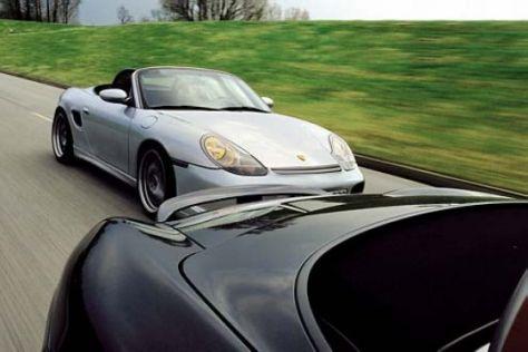 Tuning für Porsche Boxster S