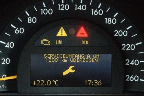Millionen deutsche Autos mit Mängeln