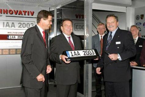 IAA 2003 offiziell eröffnet