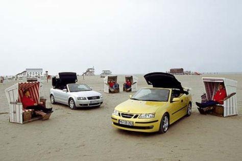 Audi A4 2.4 gegen Saab 9-3 2.0t