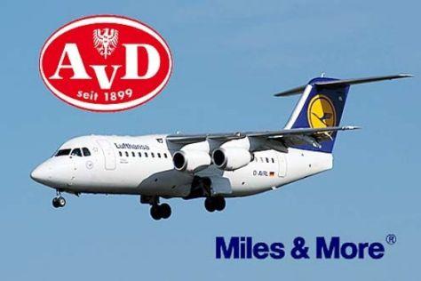 AvD und Lufthansa kooperieren