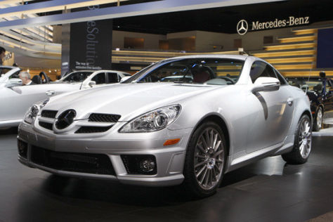 Mercedes SLK in Detroit 2008