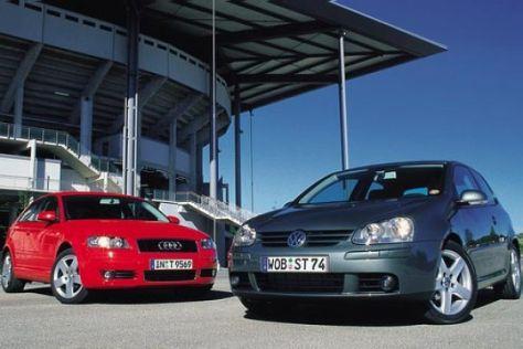 Audi A3 2.0 TDI gegen VW Golf 2.0 TDI