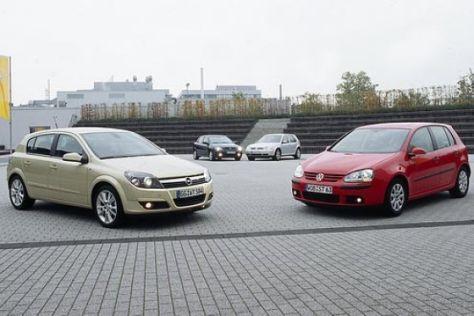 Opel Astra C oder VW Golf V