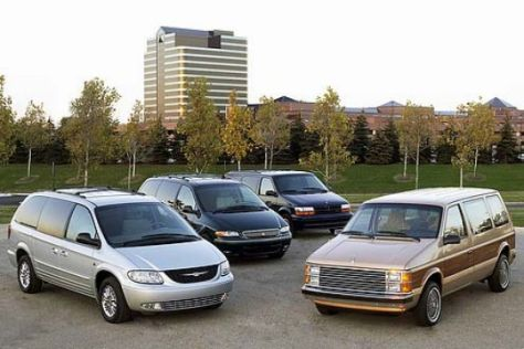 Chrysler feiert das Jubiläum des Minivans