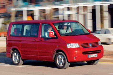 VW T5 Multivan 2.5 TDI 4motion