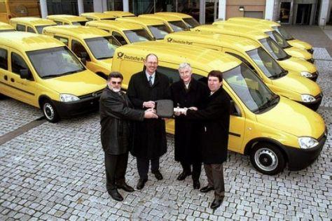 Opels gelbe Flotte