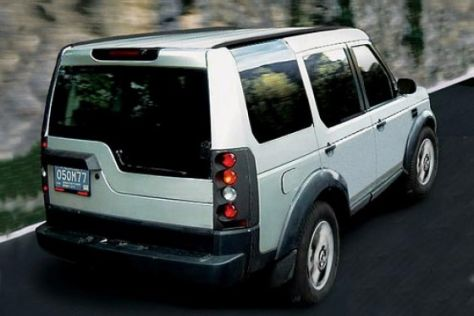 Erwischt: neuer Land Rover Discovery