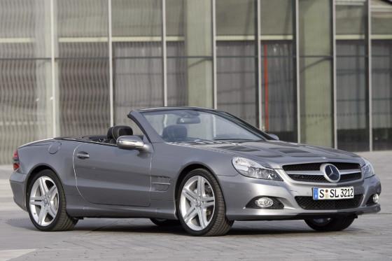 Neuer Look: Das Facelift lässt den SL sportlicher und aggresiver wirken.