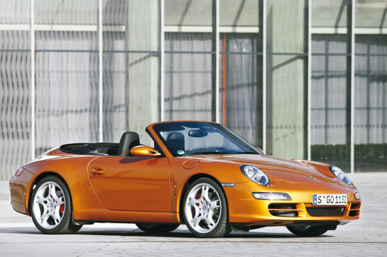 mercedes sl bmw 6er cabrio und porsche 911 carrera s im test. Black Bedroom Furniture Sets. Home Design Ideas