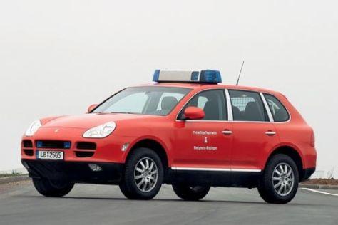 Feuerwehr-Porsche Cayenne