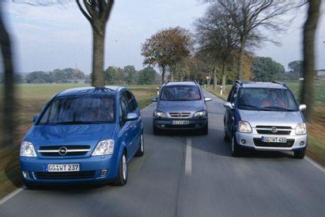 Opel-Kaufberatung: Agila, Meriva oder Zafira?