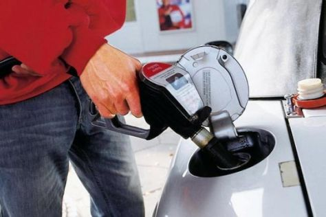 Benzinabsatz auf Niedrig-Niveau