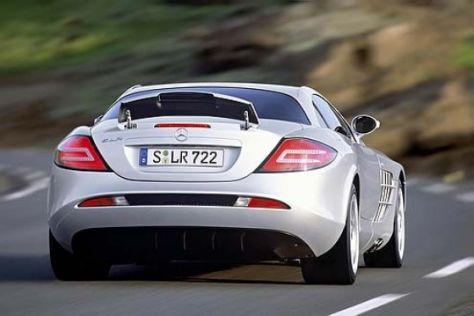 Erster Mercedes-Benz SLR versteigert