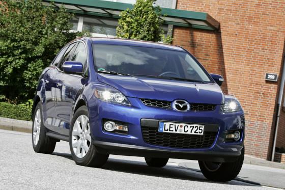 Japaner im Trainingsanzug: Mazdas CX-7 stürmt mit Turbo- Vierzylinder und günstigem Preis auf den Platz.