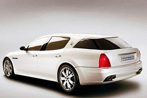 Maserati Quattroporte-Umbau