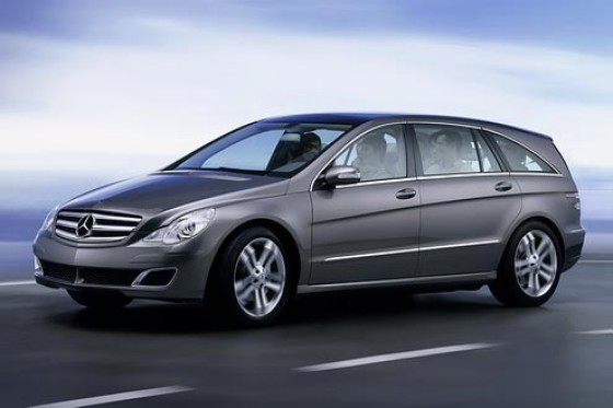Mercedes benz grand sports tourer r wie reise klasse for Benz sport katalog