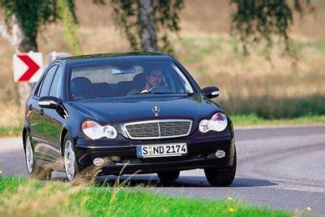 Gebrauchtwagen Test Mercedes C Klasse Ab 2000 Autobild De