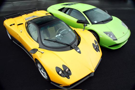 Lamborghini Murciélago LP640, Pagini Zonda F