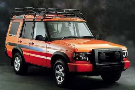 Land Rover Discovery G4 & Entertainer
