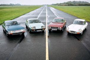 Vergleichstest: Gran Turismos der 70er
