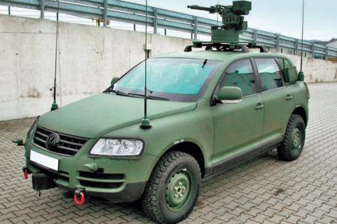 Volkswagen VW Touareg Bundeswehr