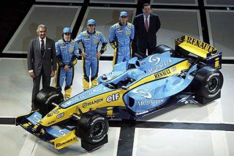 Neuer Formel-1-Bolide aus Frankreich
