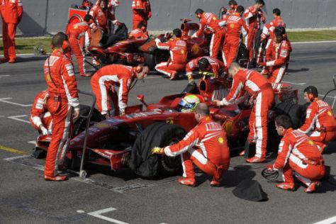 Formel 1, Barcelona Test F 2008