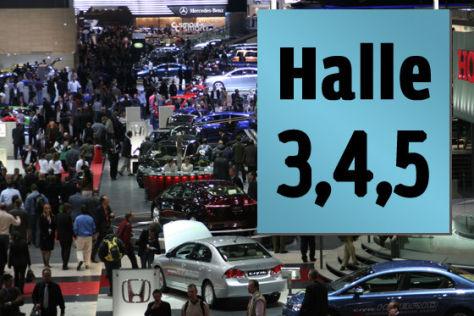 Genfer Salon Hallen 3,4 und 5