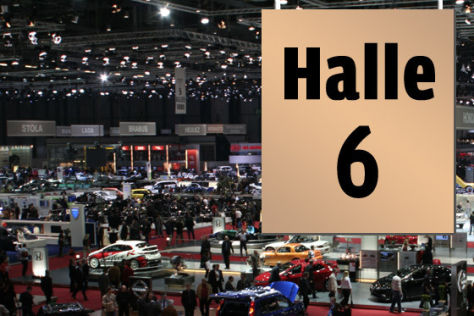 Genfer Salon Halle