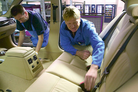 Personalabbau bei BMW