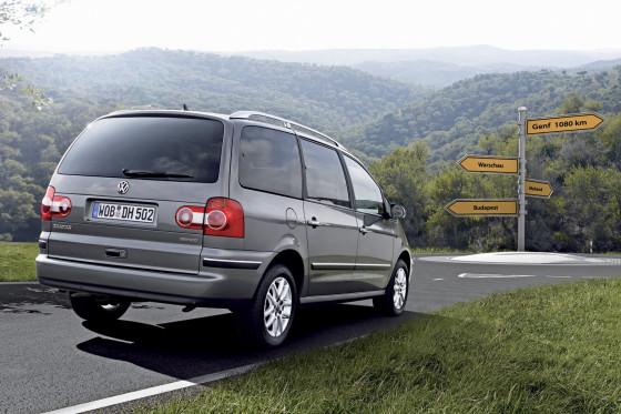 VW Sharan BlueMotion