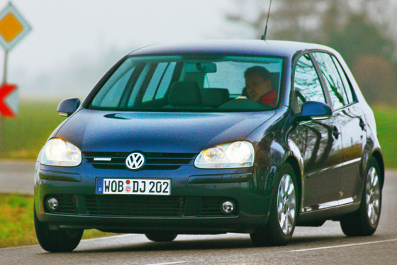 VW Golf 1.9 TDI BlueMotion