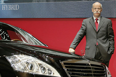 Erlkönig Mercedes-Benz S400 Hybrid
