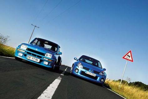 Renault 5 Turbo und Clio V6